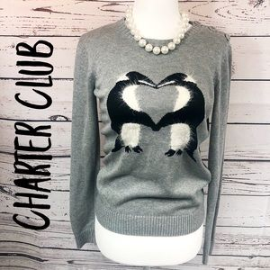 Charter Club Penguin Sweater